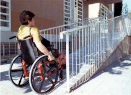 rampa silla ruedas