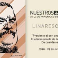 Muestra sobre Linares Cardozo en la Biblioteca Provincial