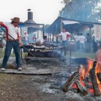 Se presentó la XI Fiesta Provincial del Asado con Cuero en Viale