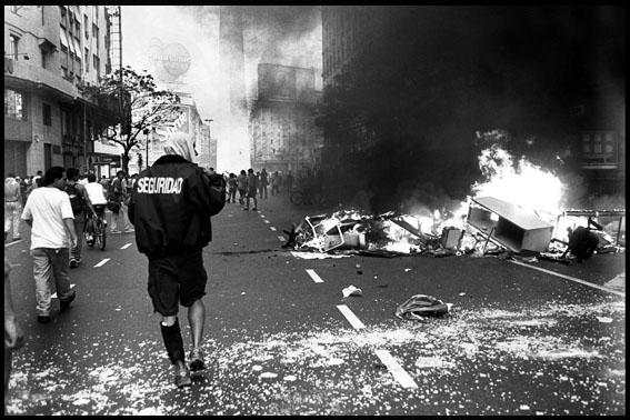 ARGENTINA- Rebelion 20 dicember  © Pousthomis Nicolas