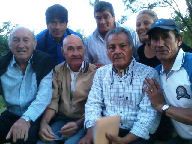 Músicos en La Bajada de la Cruz. Foto archivo.
