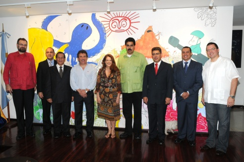 Misión comercial a Venezuela, octubre de 2009.