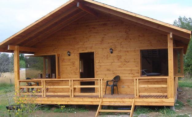 Avanza el proyecto que impulsa la construcci n de casas de for Casas de madera baratas