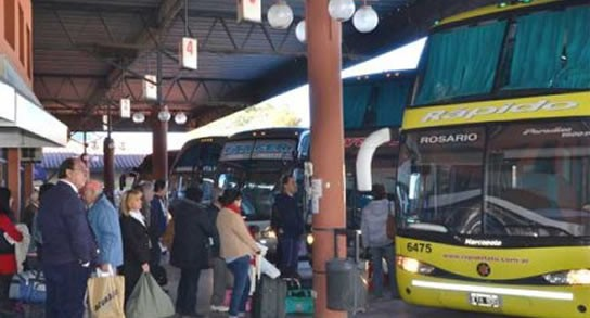 Suba del 20 % para tarifas de ómnibus de largadistancia