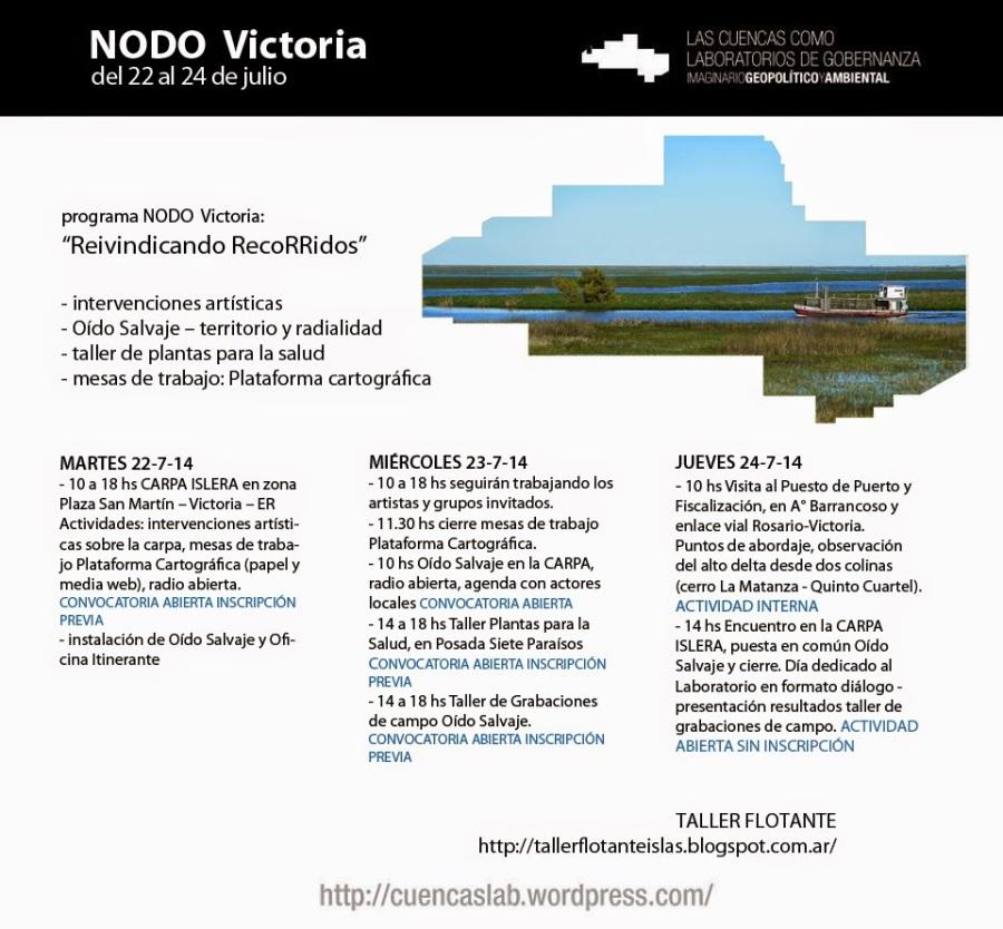 afiche agenda NodoV