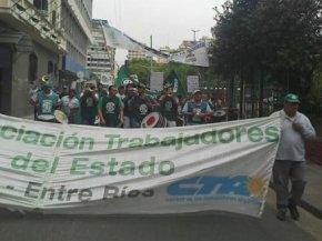 CTA y CTERA marchan al Congreso de laNación