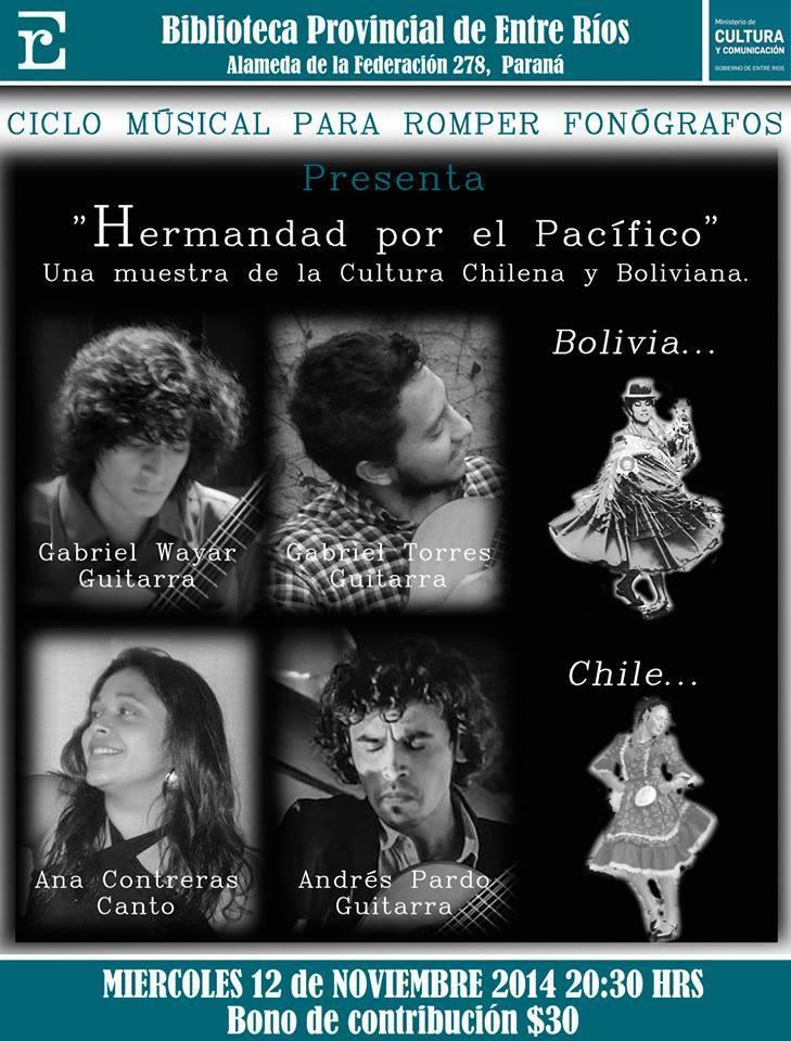 chile bolivia iquique oruro musica sabores