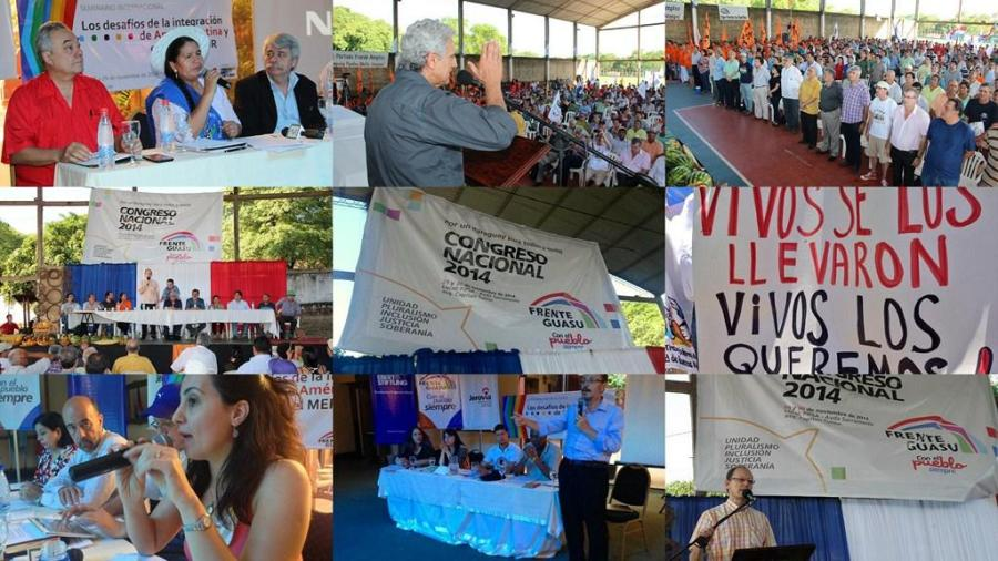 congreso frente guasu izquierda paraguay