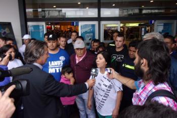 Recibieron a delegados argentinos invitados por el Papa Francisco