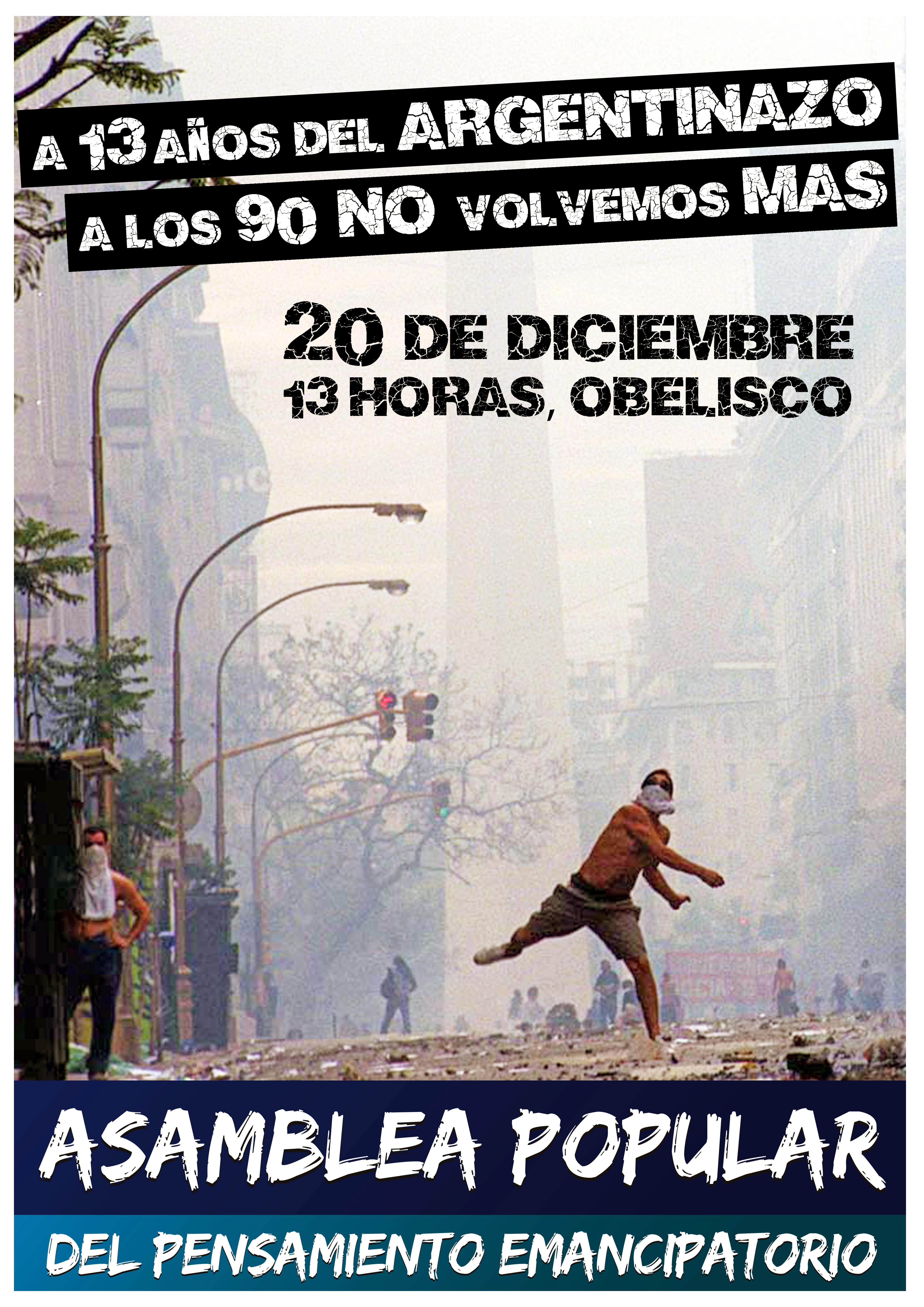 afiche asamblea 20 diciembre