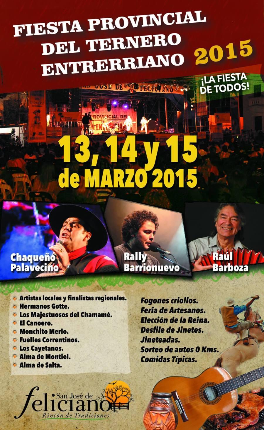 Fiesta del Ternero Feliciano 2015