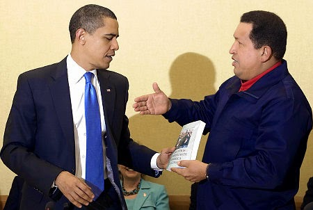 chavez_obama, las venas abiertas