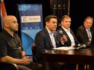 El ministro de Cultura, Pedro Báez, remarcó la importancia de estos intercambios, porque