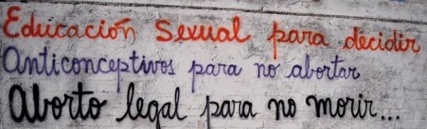 grafitti aborto