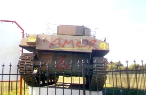 tanque oro verde