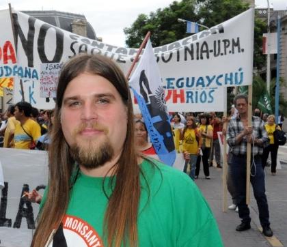 El dirigente del MST-Nueva Izquierda, Luis Meiners, cuestionó la reforma de la Ley Castrillón impulsada por el gobernador, Sergio Urribarri