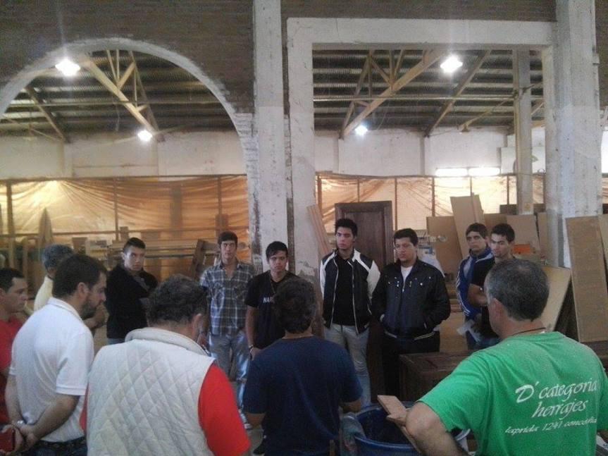 RENATEA: capacitación sobre construcción y fabricación enmadera