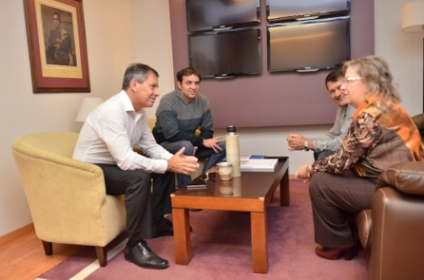 Articulan acciones entre el Ministerio de Cultura y la Facultad de Humanidades de la Uader