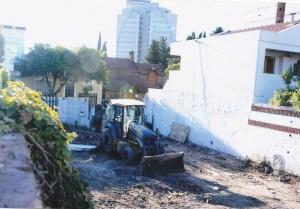 demolicion torre 26 pisos