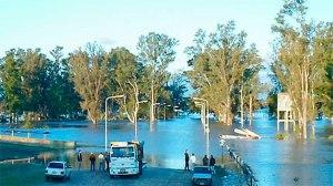 El comportamiento del río Uruguay en las últimas horas ha generado diversas acciones en Concepción del Uruguay, vinculadas a los preparativos para evacuaciones
