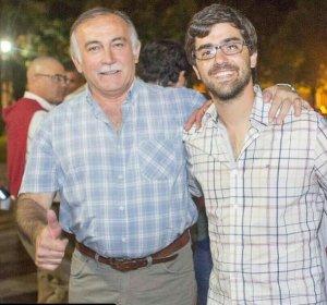 René Rossi y Bruno Sarubi. Fuente: Twitter