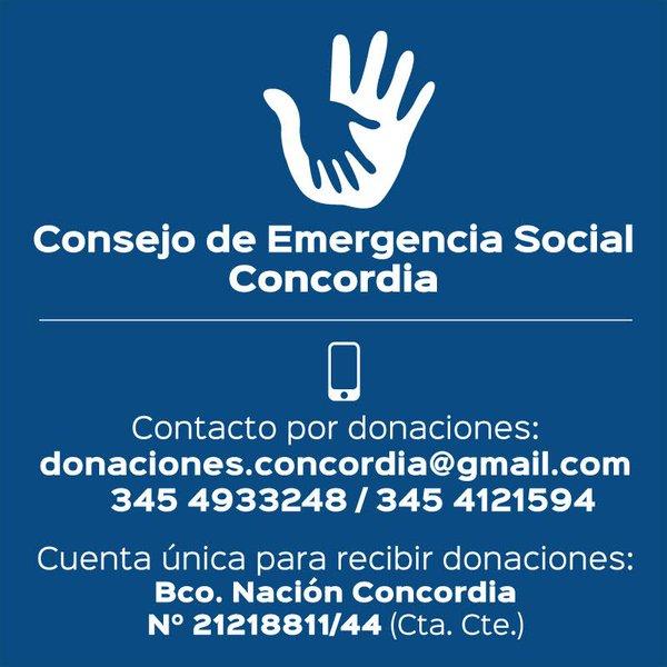 emergencia social concordia