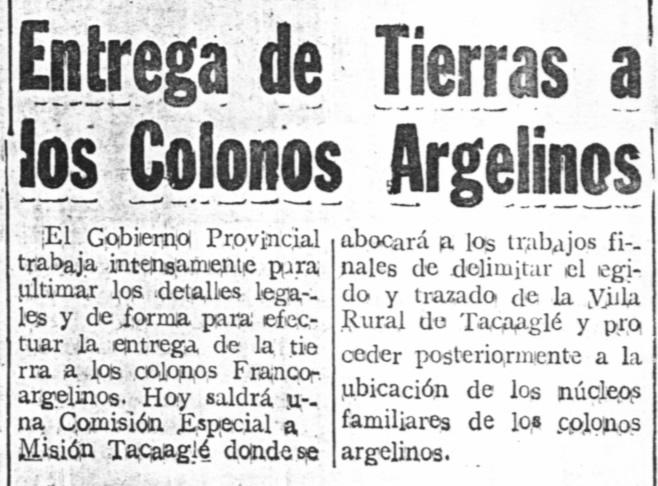 TIERRAS P COLONOS