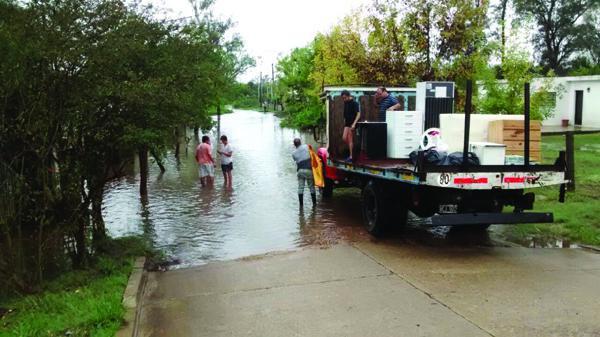 ayui concordia inundados