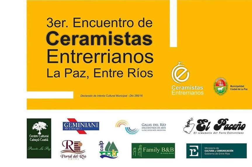 Comienza el 3° Encuentro de Ceramistas de EntreRíos