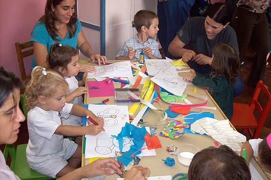 maestros de apoyo en jardines de infantes