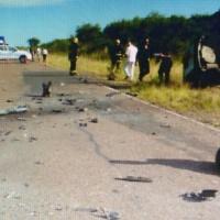 Ruta 6: un hombre falleció tras el choque de un colectivo y un auto
