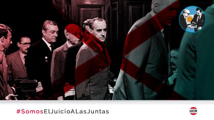 La UCR reivindica la CONADEP y el Juicio a lasJuntas