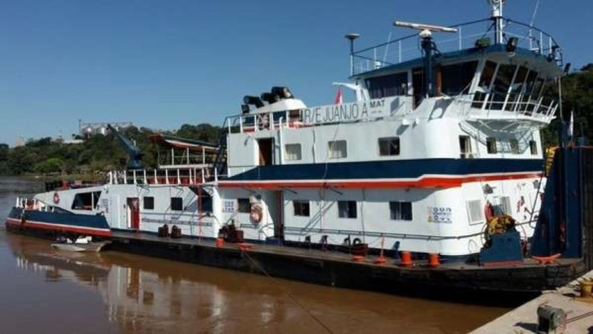 Río Paraná: decomisaron unas 15 toneladas de marihuana en una barcaza desoja