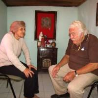 La curandera Ramonita López y el Che Guevara