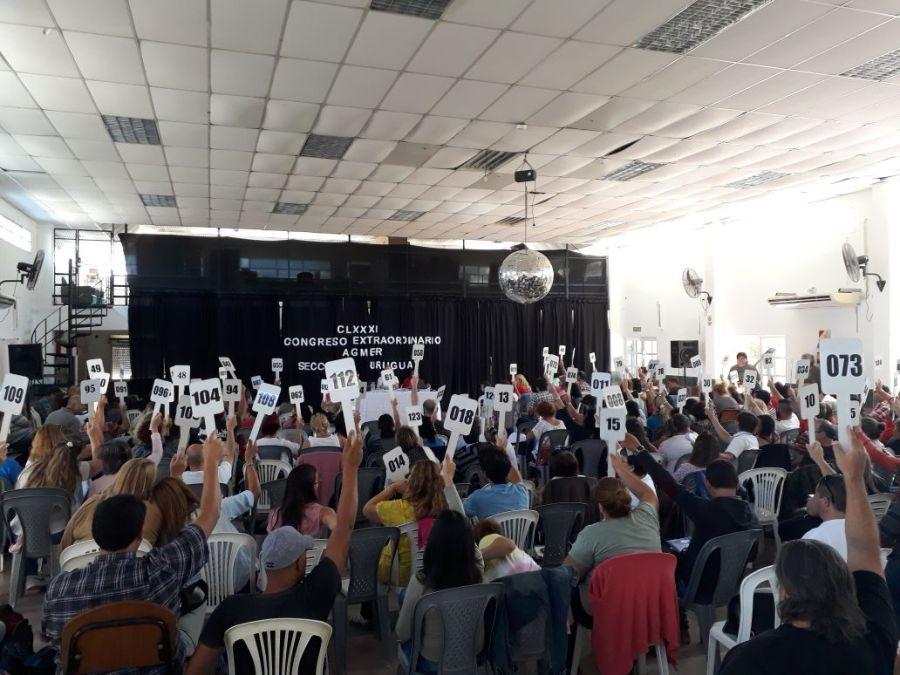 El Congreso de AGMER rechazó la propuesta salarial y aprobó un plan de acción con paro y movilización provincial