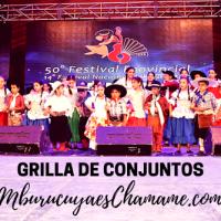 Grilla completa: Festival de Chamamé en Mburucuyá