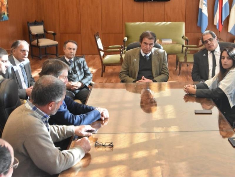 El Superior Tribunal recibió a entidades del campo que reclamaron por el fallo de los agroquímicos