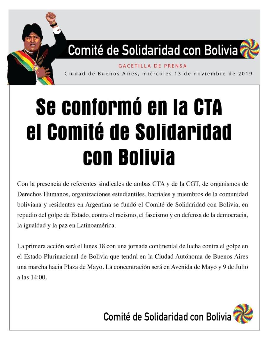 bolivia comite