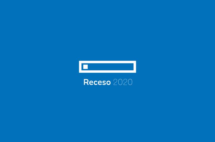 receso 2020