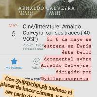 Difunden documental completo sobre Calveyra