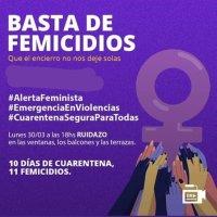 «Ruidazo» de organizaciones feministas