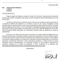 Caso Maldonado: piden explicaciones al Estado argentino