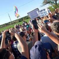 Importante movilización en apoyo al Proyecto Artigas